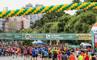 La Volta a Peu València Caixa Popular inundará la ciudad de deporte y ocio en la mañana del domingo