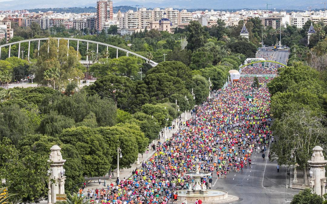 Victòria per a Alberto López i Marta Esteban en la 37ª Volta a Peu València Caixa Popular