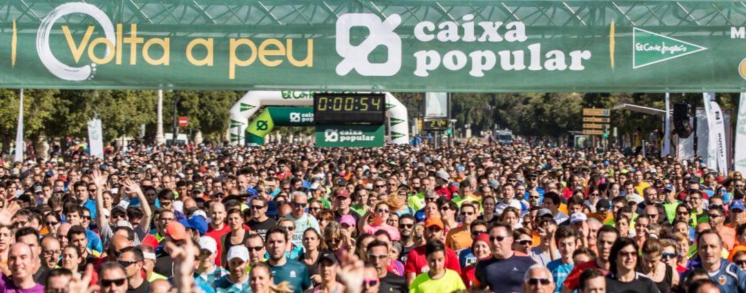 La Volta a peu València Caixa Popular abre inscripciones para su edición de 2019