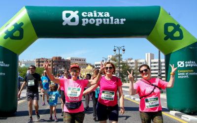 La participació femenina, el gran èxit de la Volta a Peu València Caixa Popular 2018