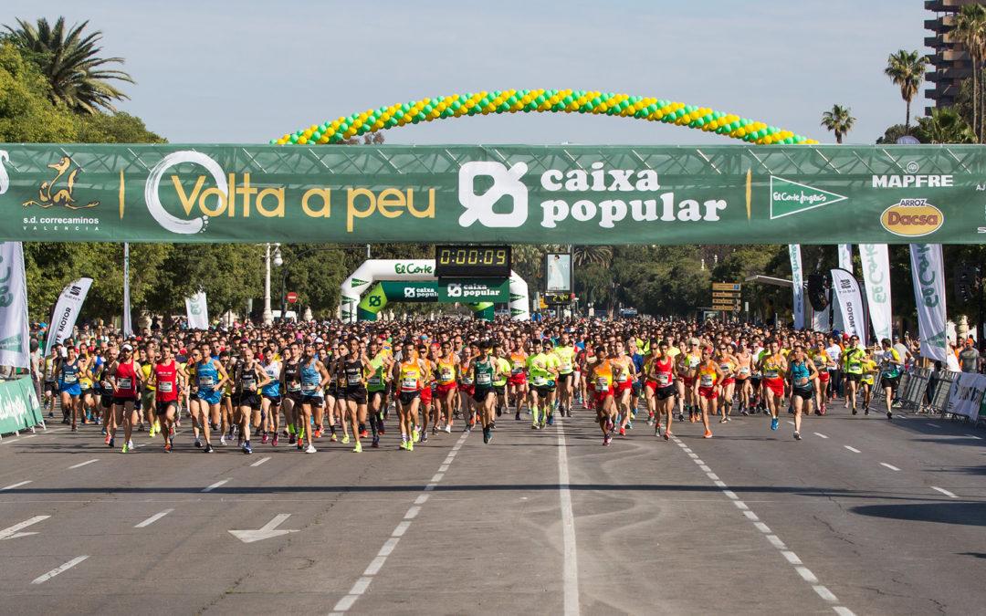 Víctor Puyuelo y Davinia Albinyana se imponen en la Volta a Peu València Caixa Popular