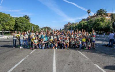 Fes-te voluntari de la Volta a Peu València Caixa Popular 2019 i viu l'experiència des de dins
