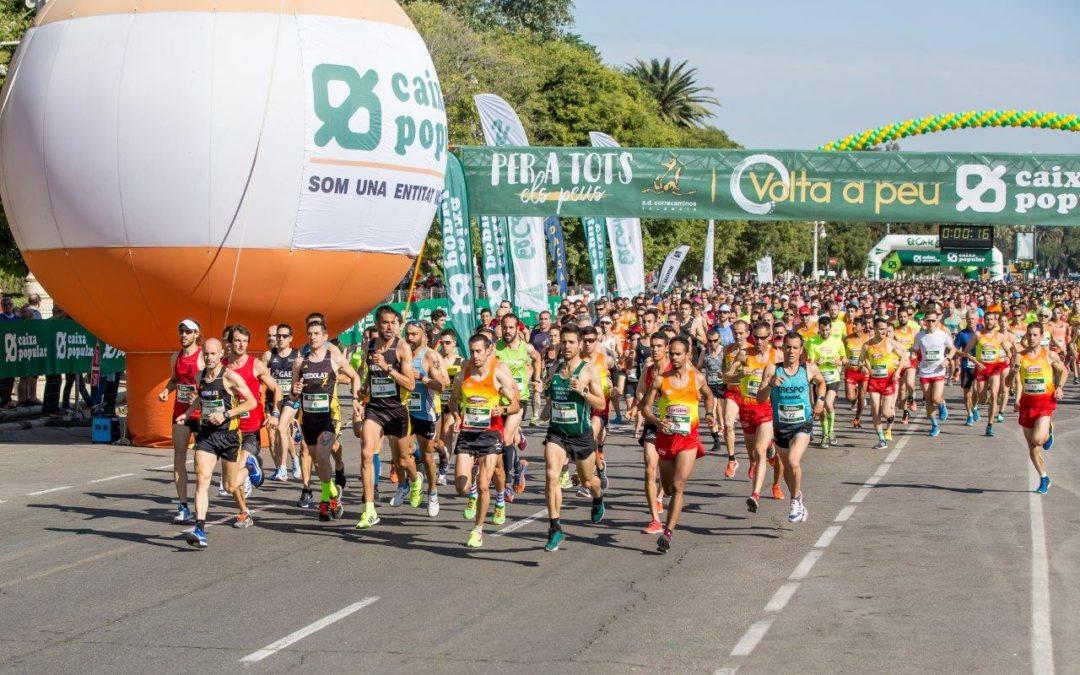 Els millors atletes valencians lluitaran per la victòria en la Volta a Peu València Caixa Popular