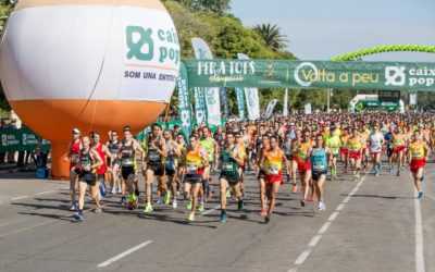 Los mejores atletas valencianos lucharán por la victoria en Volta a Peu València Caixa Popular