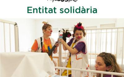 Volta a Peu València Caixa Popular tria a PayaSOSpital com la seua entitat solidària per a 2017