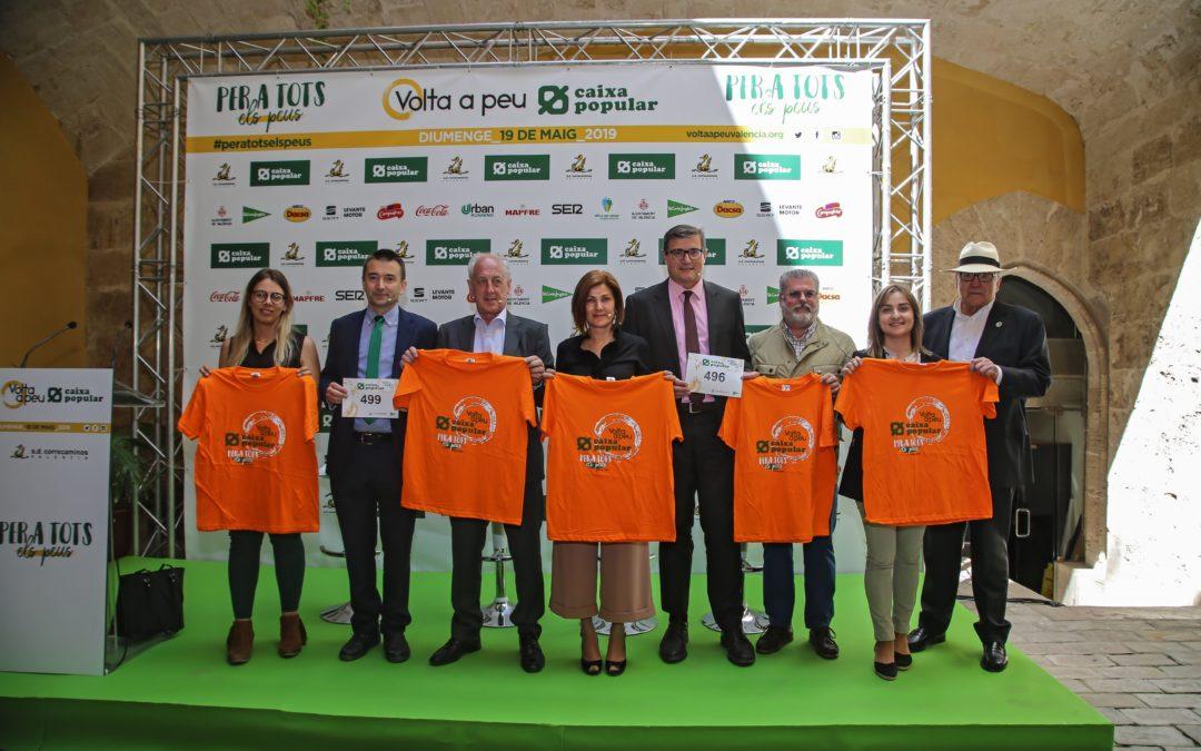 La Volta a Peu València Caixa Popular invita a los valencianos a participar este domingo en su 37ª edición
