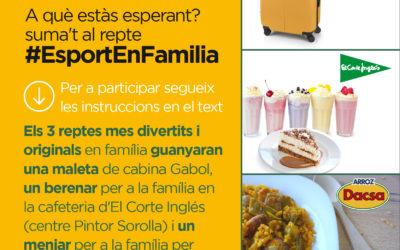 La Volta a Peu València Caixa Popular llança el repte #EsportEnFamilia animant a la pràctica de l'esport