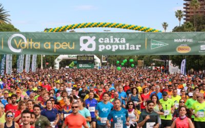 La Volta a Peu València Caixa Popular abre inscripciones el próximo miércoles 26 de febrero