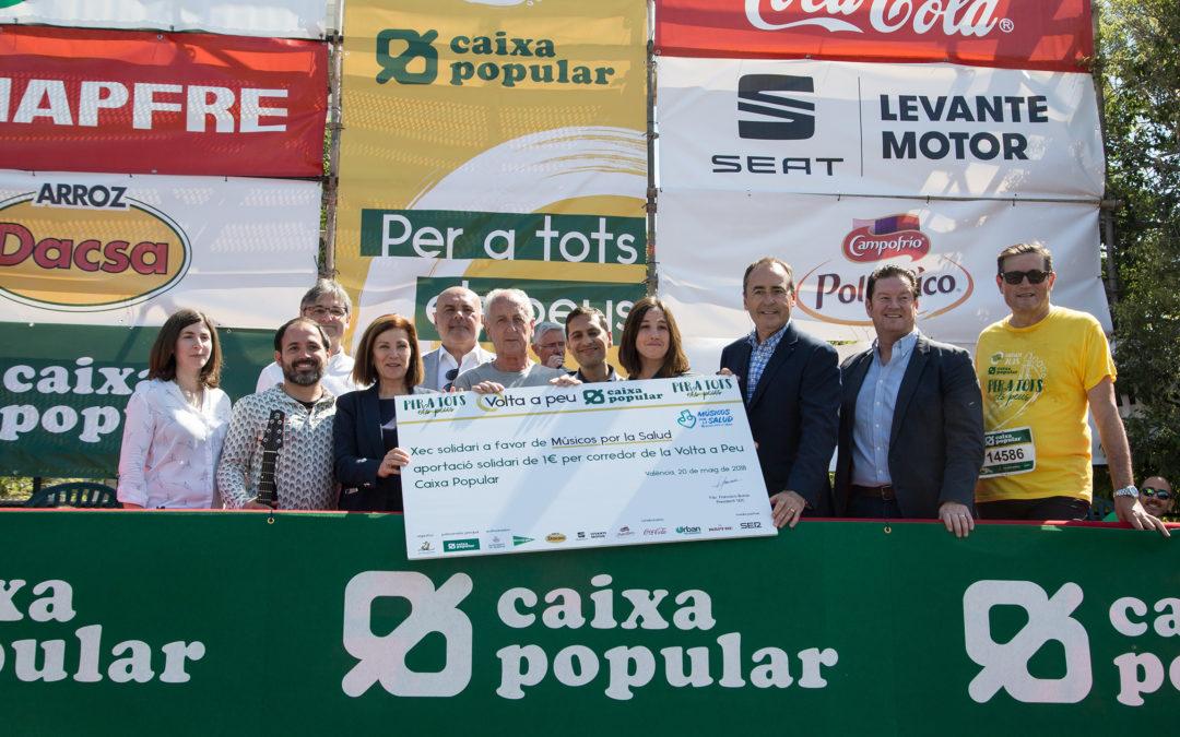 10.166€ per a l'entitat solidària, Músicos por la salud